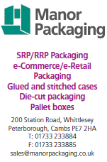 SRP/RRP Packaging, e-Commerce /e-Retail Packaging, Glued and stitched cases, die-cutting packaging, pallet boxes