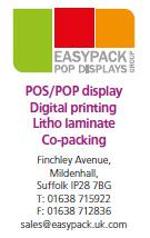 POS/POP display, digital printing, Litho laminate, co-packing
