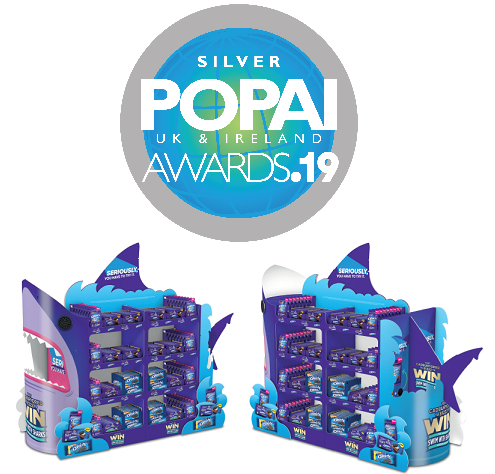 Shark POP Display POPAI awards 19